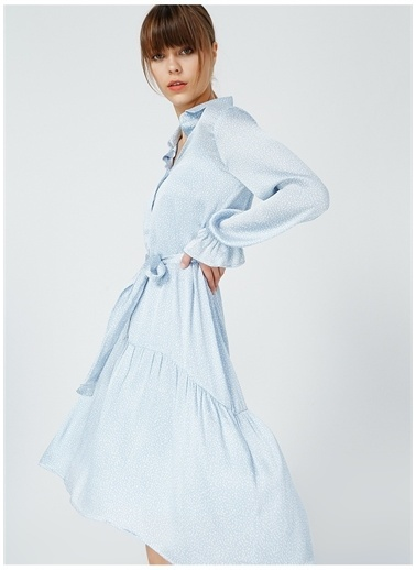 Fabrika Comfort Fabrika Comfort Kadın Mavi Elbise Mavi